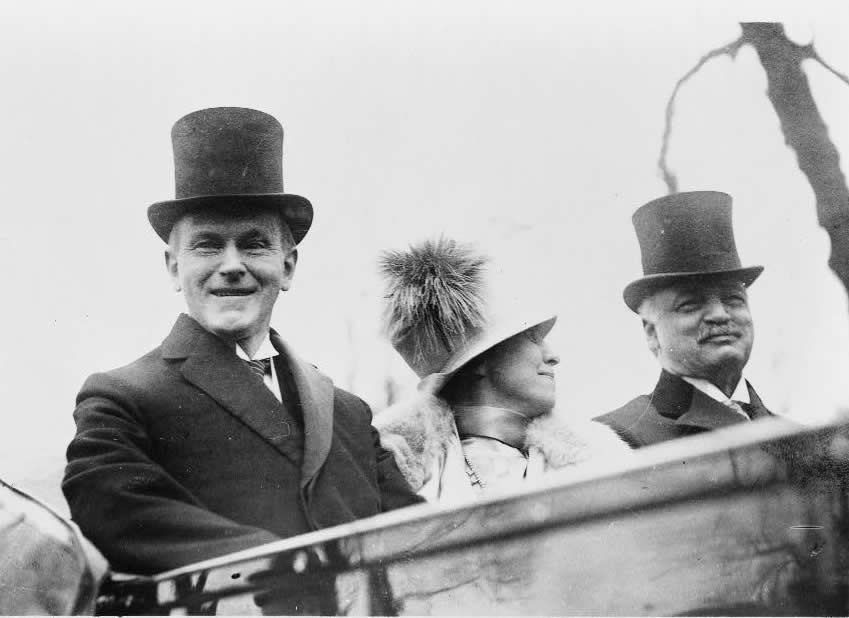 Coolidge and wife