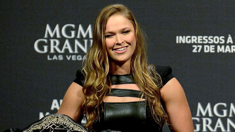 Ronda as the champion