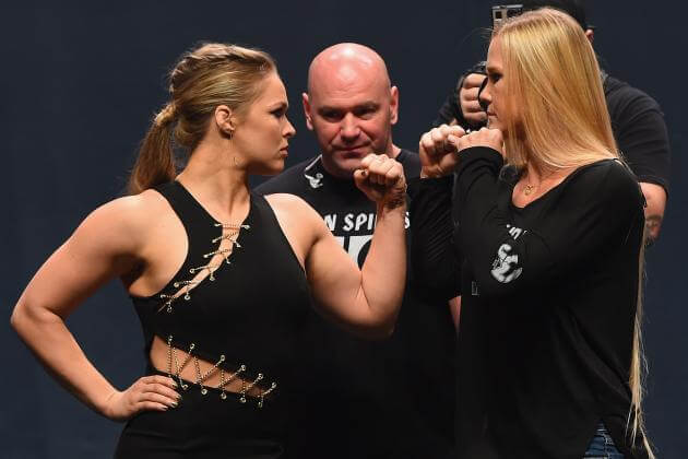 Rousey vs. Holm