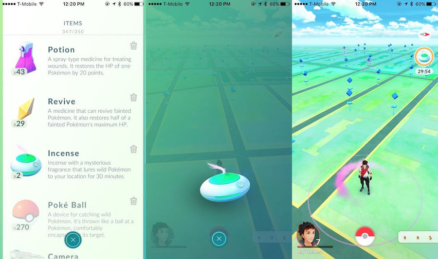 Use Incense And Lure Modules