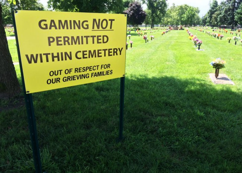 You Could End Up In A Cemetery