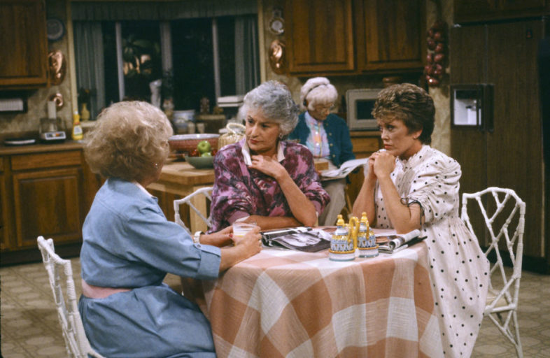 golden girls three tables