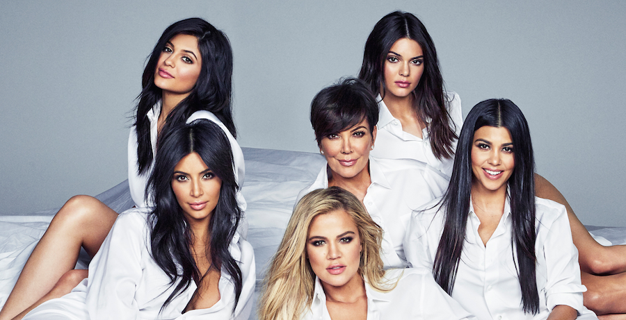 Kardashians - Simple Hair and Simple Style