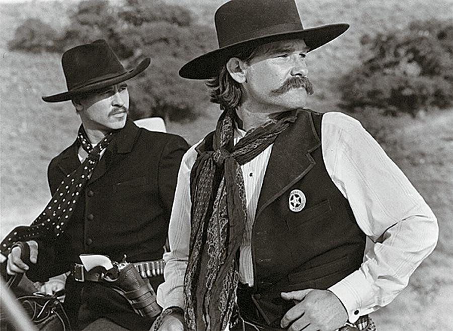 Kurt Russell and Biehn