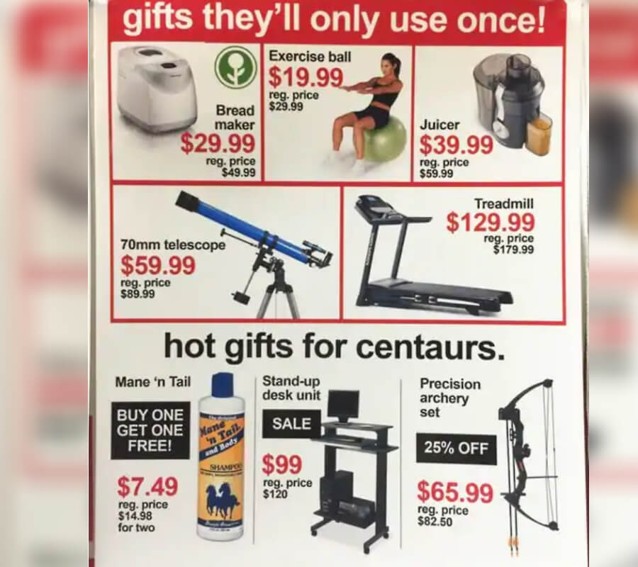 gifts they; use once