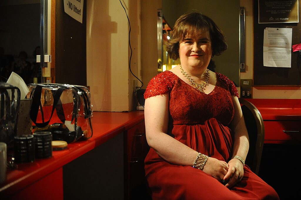 Susan Boyle Performs At The Music Hall, Aberdeen