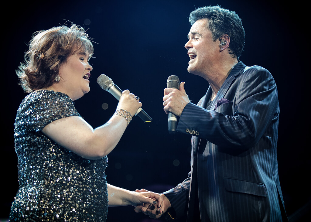 Donny And Marie Osmond Osmond Perform In London