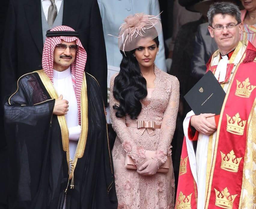 prince alwaleed and princess ameerah