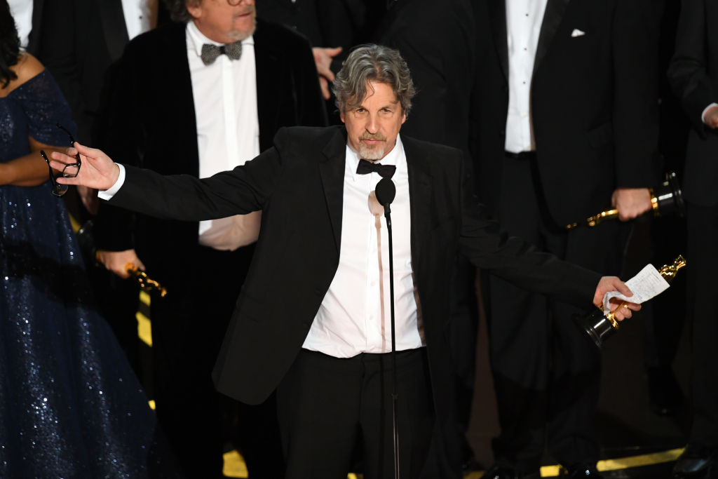 peter farrelly says the final movie is the final green book