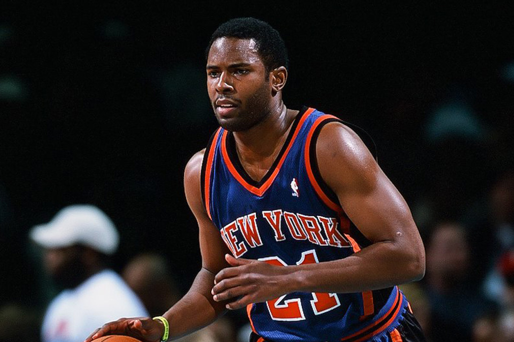 charlie ward retired nba career new york knicks