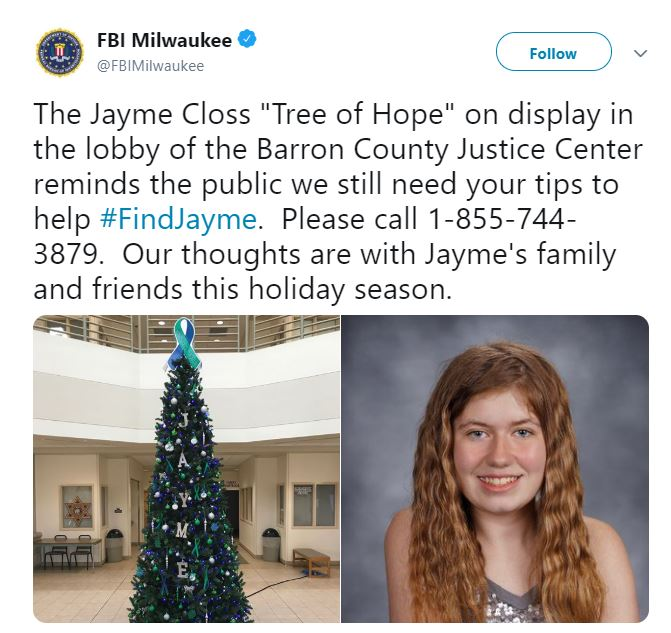 fbi-tribute-to-jayme-closs