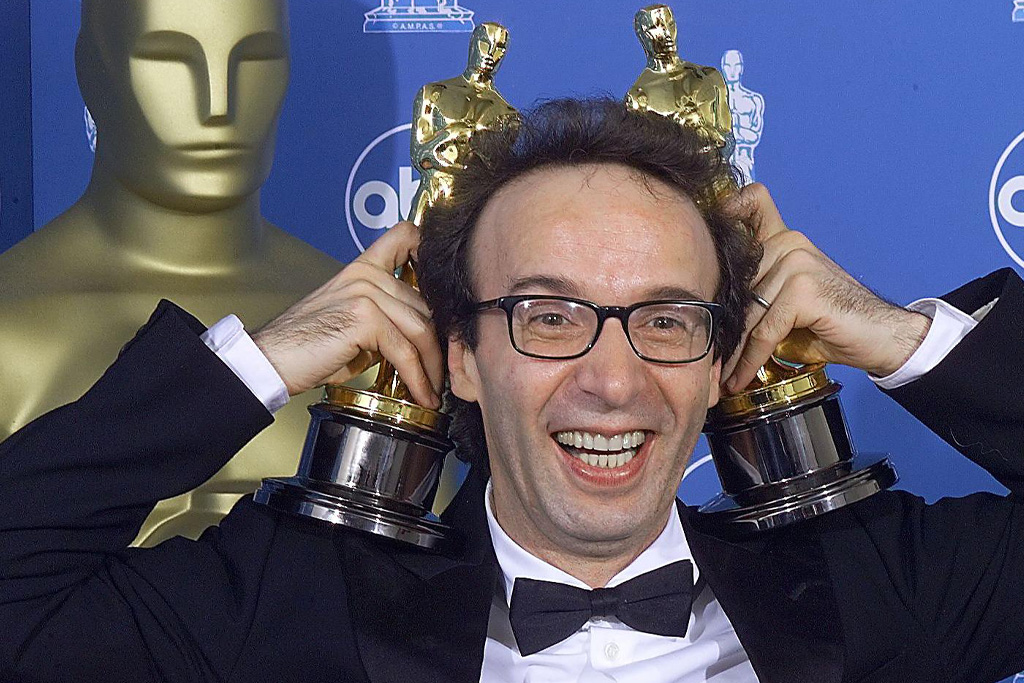 roberto benigni oscar upset 1999 life is beautiful tom hanks