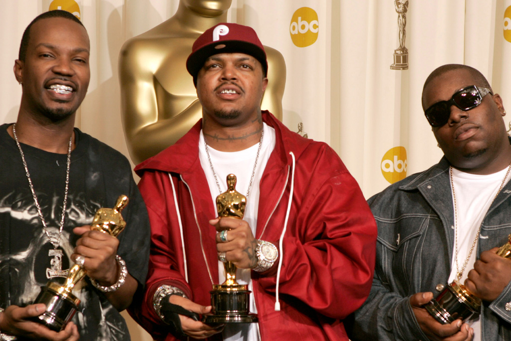 three 6 mafia oscar upset 2006 dolly parton