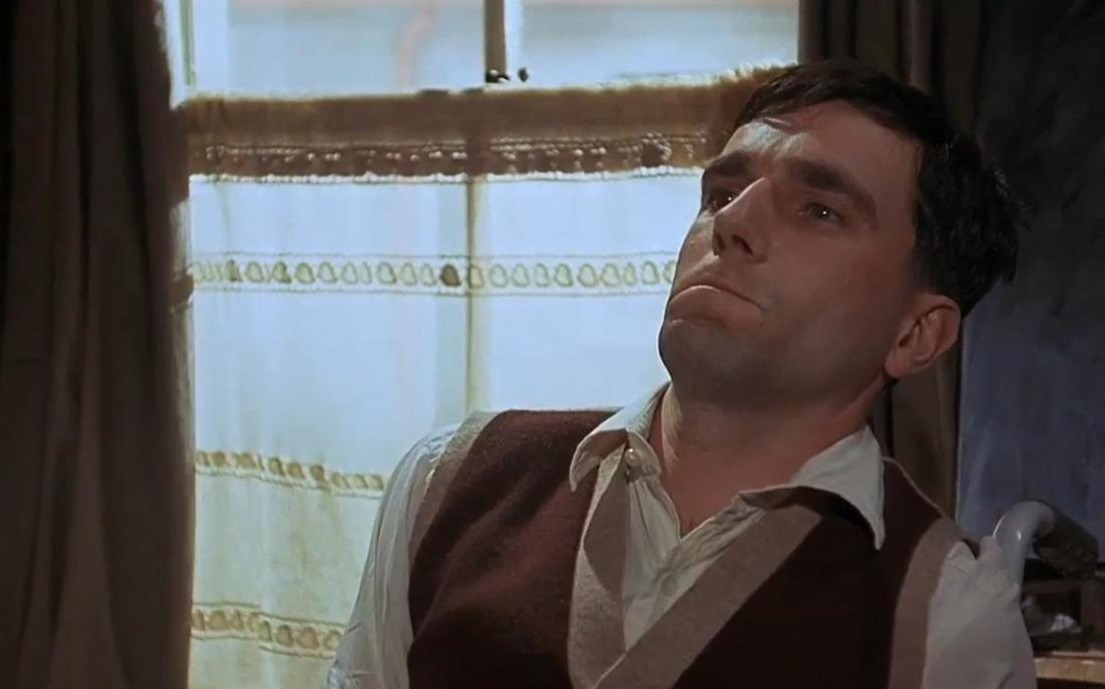 Daniel Day-Lewis plays Christy Brown in My Left Foot
