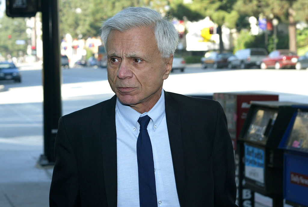 Actor Robert Blake arrives in court