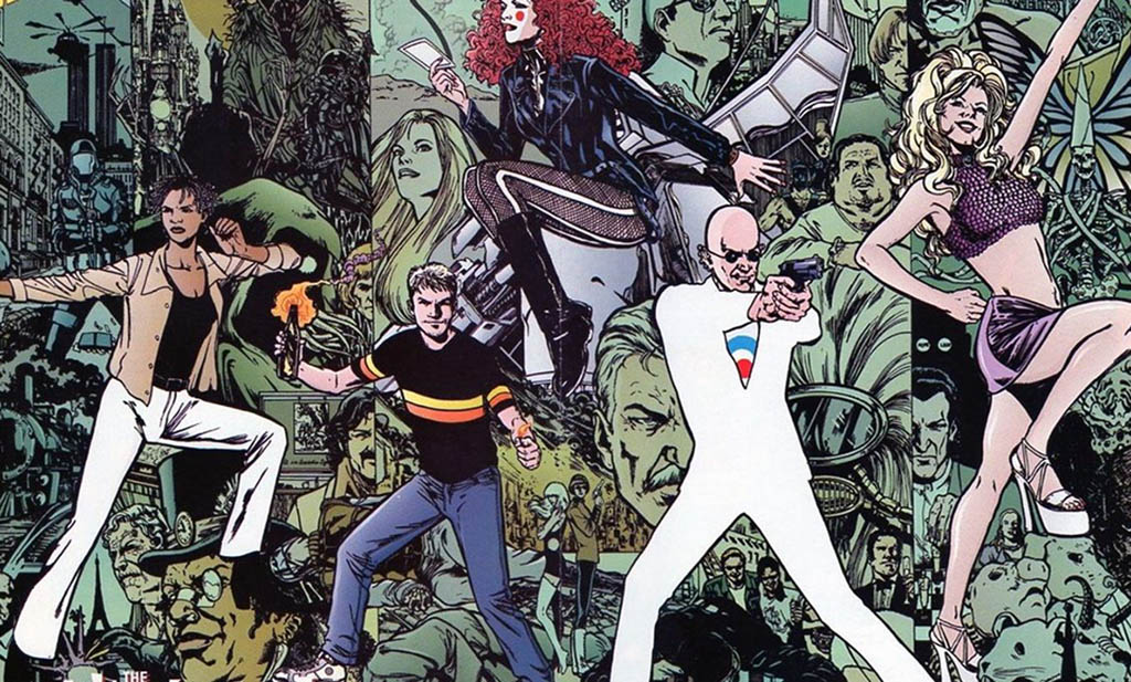 comic characters called the Invisibles