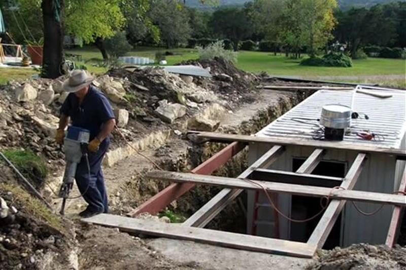 dig a hole 11