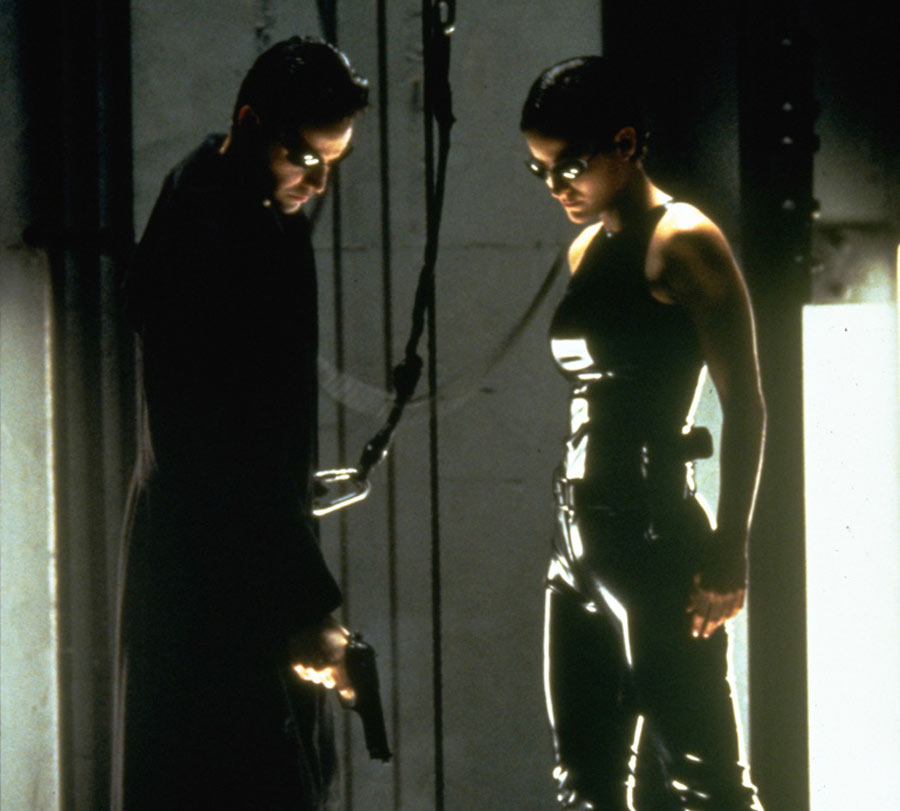 the matrix makeshift costumes weren't expensive
