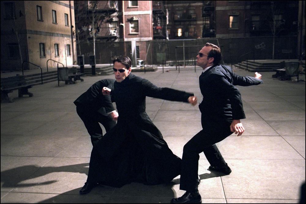 the matrix reloaded was filmed in Australia