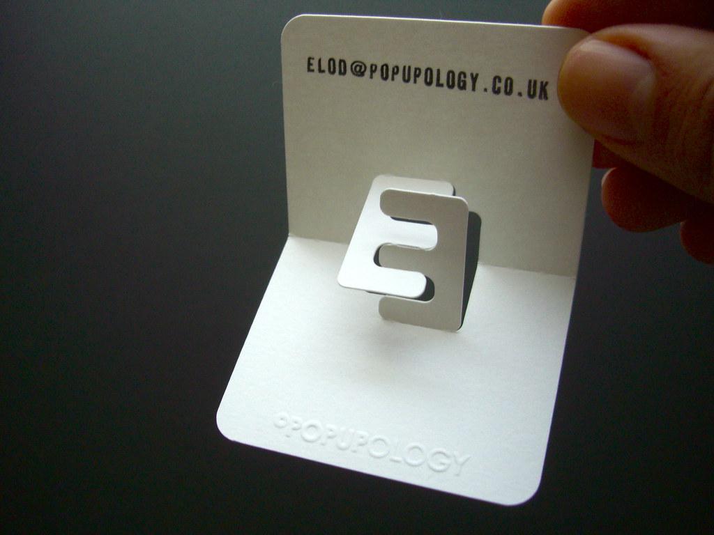 3D business card by Elod Beregszaszi