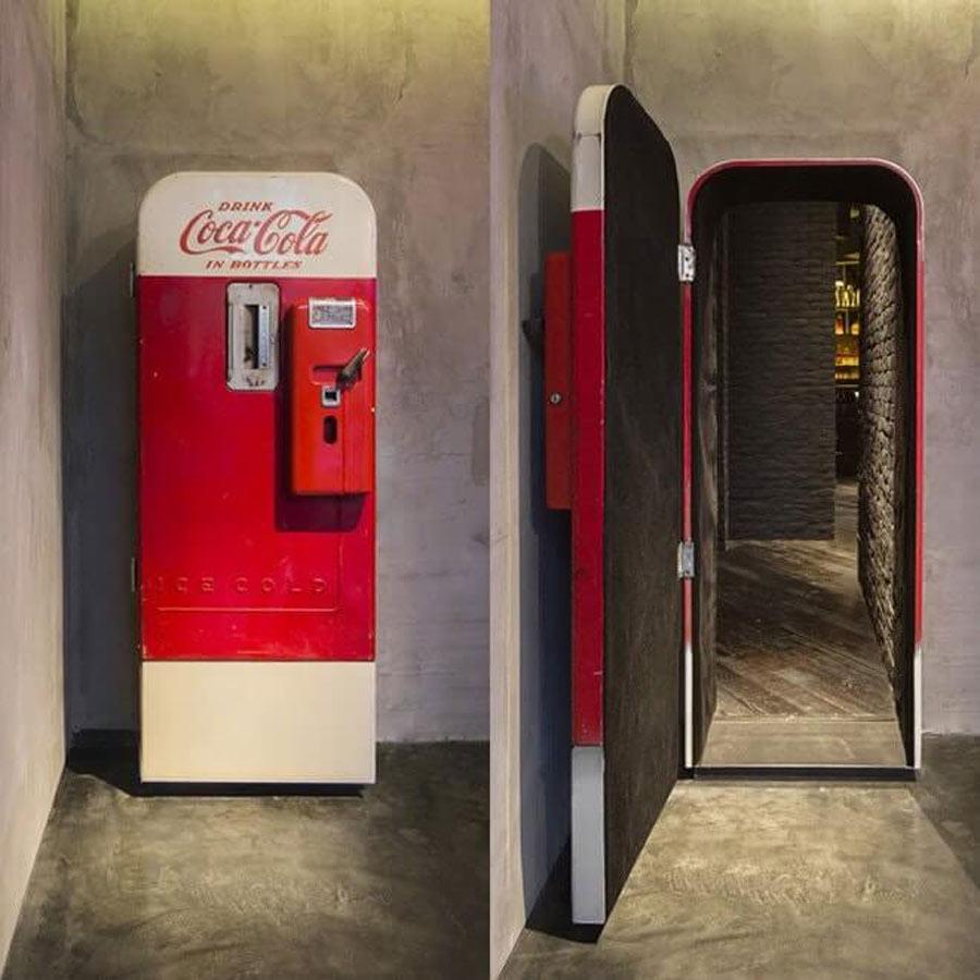Coca Cola Bar Door