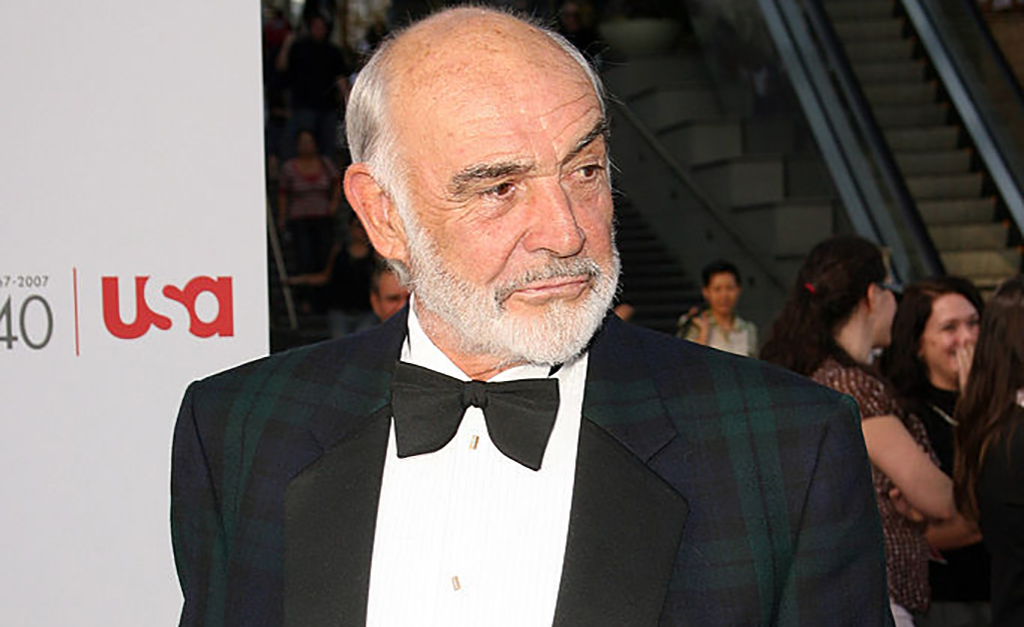 Photo of Connery at a premier