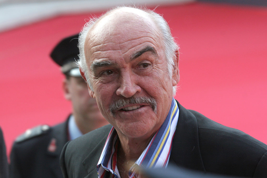 Connery on a red carpet