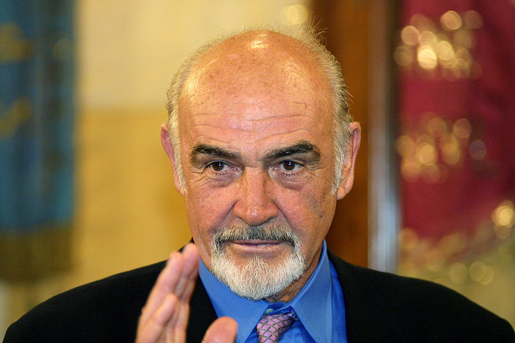 Close-up of Connery