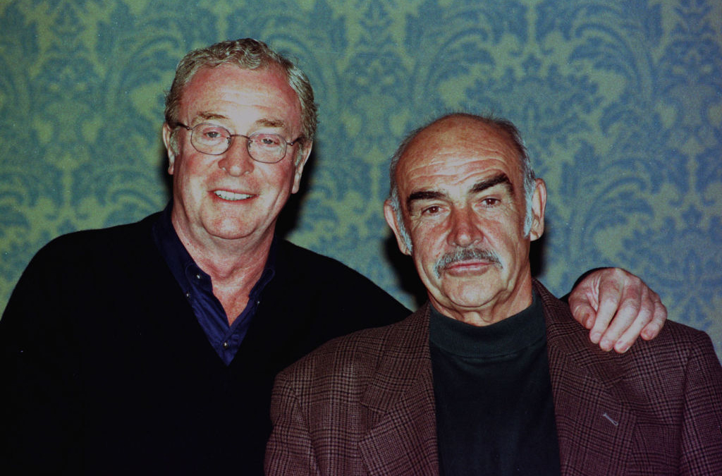 Picture of Sean Connery and Michael Caine