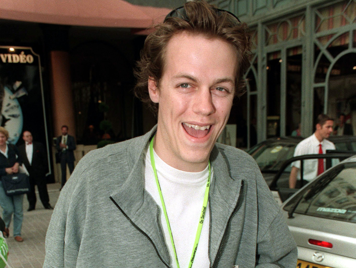 Tom Parker-Bowles outside the Majestic Hotel, at the Cannes Film Festival, France.