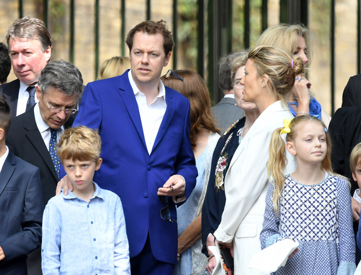 Tom Parker Bowles attends Trooping The Colour 2018 at The Mall on June 9, 2018 in London, England.