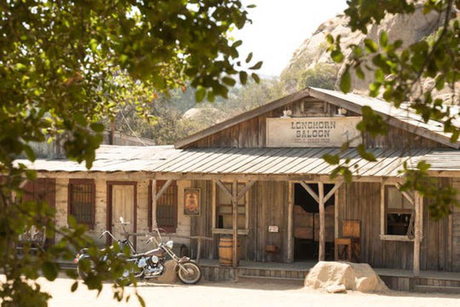 Spahn Movie Ranch as depicted in