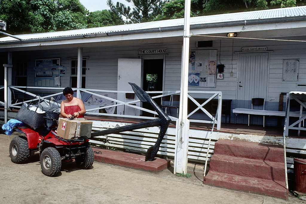 Pitcairn Island,village, Court House