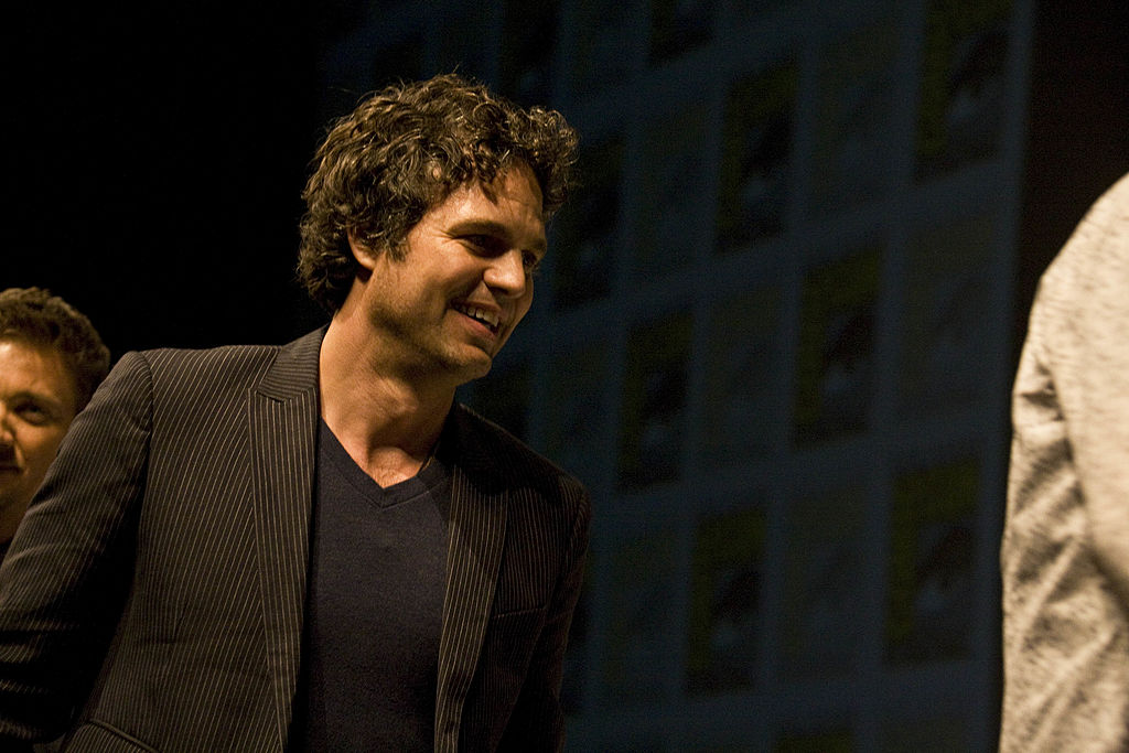 GettyImages-103082073 Mark Ruffalo appears at The Avengers panel at Comic-Con