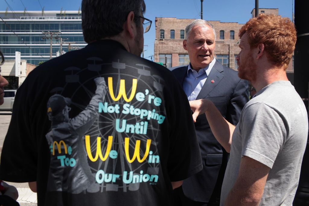 angry mcdonalds union member want higher pay
