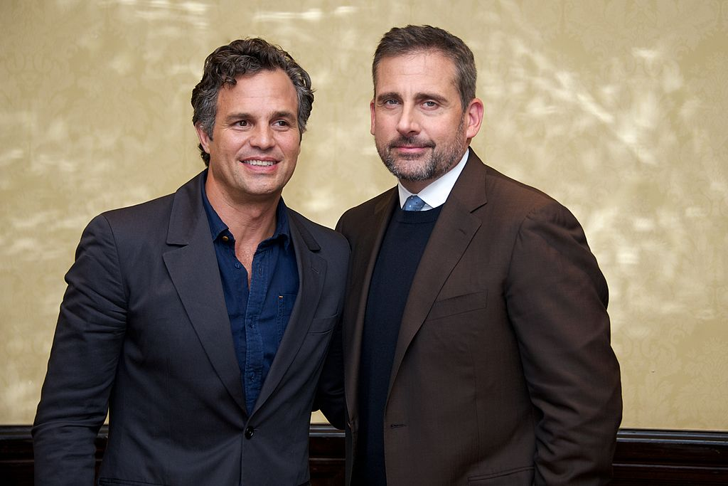 GettyImages-455104398 Mark Ruffalo and Steve Carell at the
