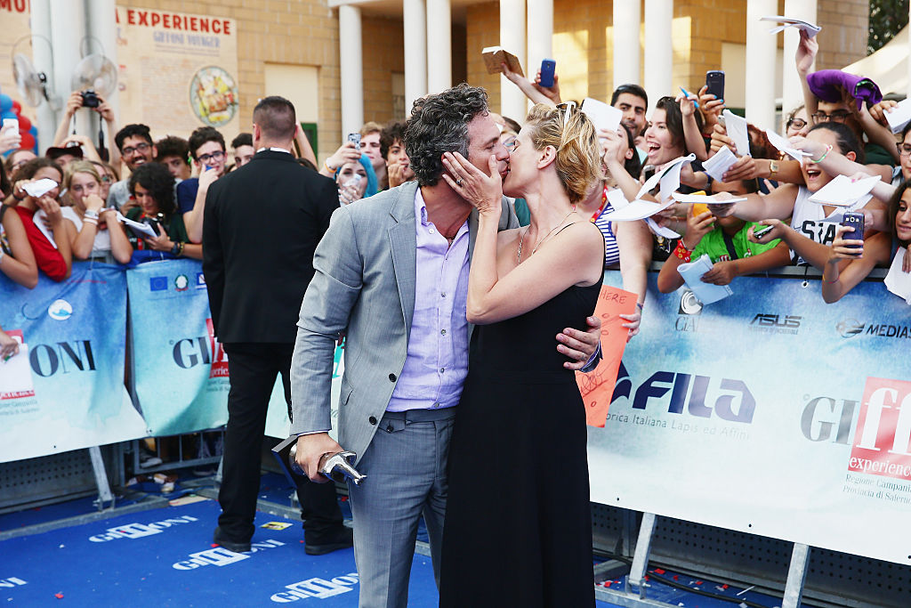 GettyImages-481215004 Sunrise Coigney and Marc Ruffalo attend Giffoni Film Festival 2015 photocall