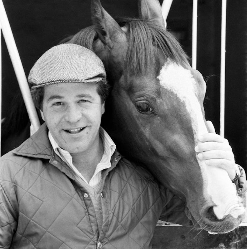 GettyImages-639597782 Derby winning racehorse Shergar at stables. 6th June 1981