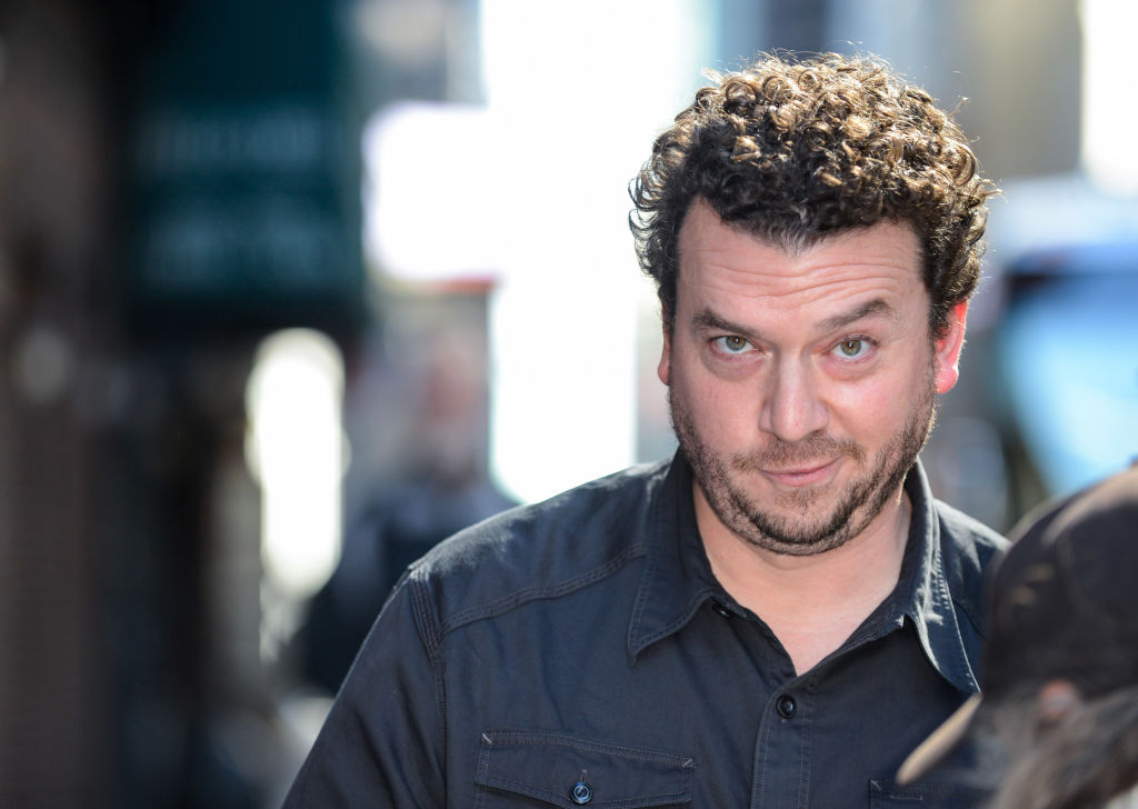 Actor Danny McBride enters the