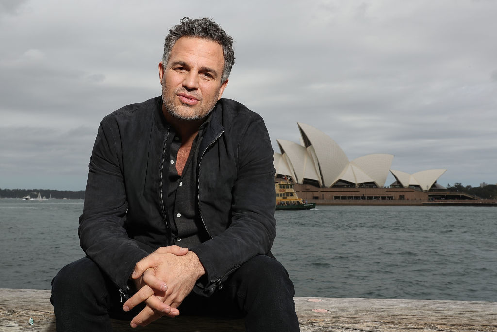 GettyImages-862556394 ark Ruffalo poses during a photo call for Thor: Ragnarok on October 15, 2017 in Sydney, Australia.