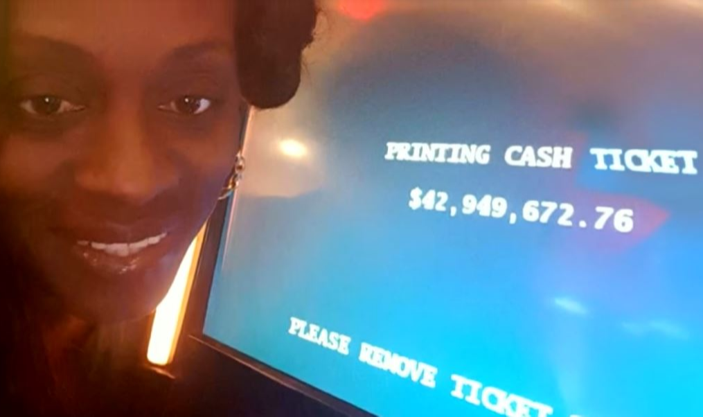 Katrina Bookman winning $42 million later determined to be a malfunction