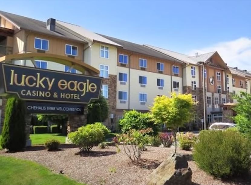 Lucky Eagle Casino and Hotel exterior photo