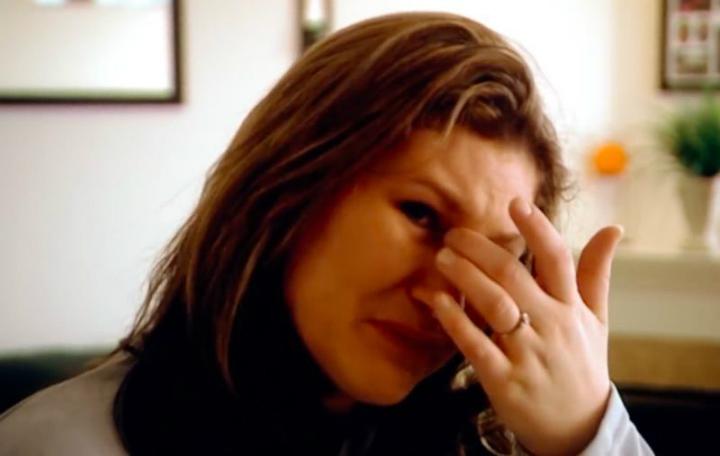 Lydia Farichild crying