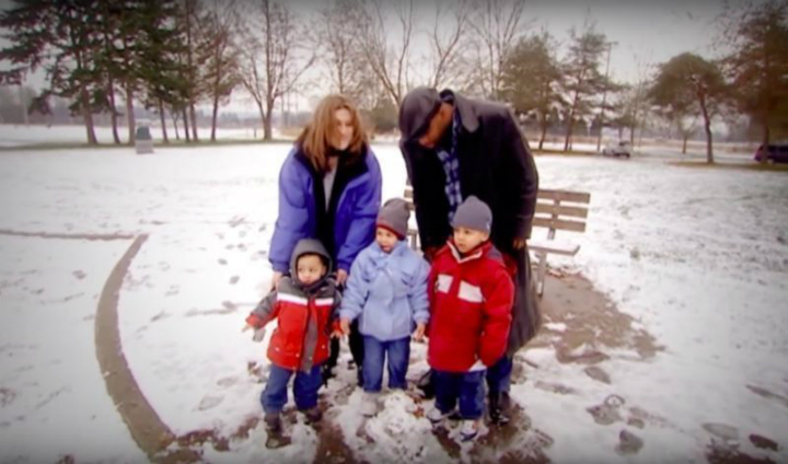 Lydia, Jaime, and their three children