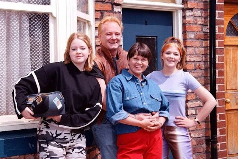 coronation street color scene four characters