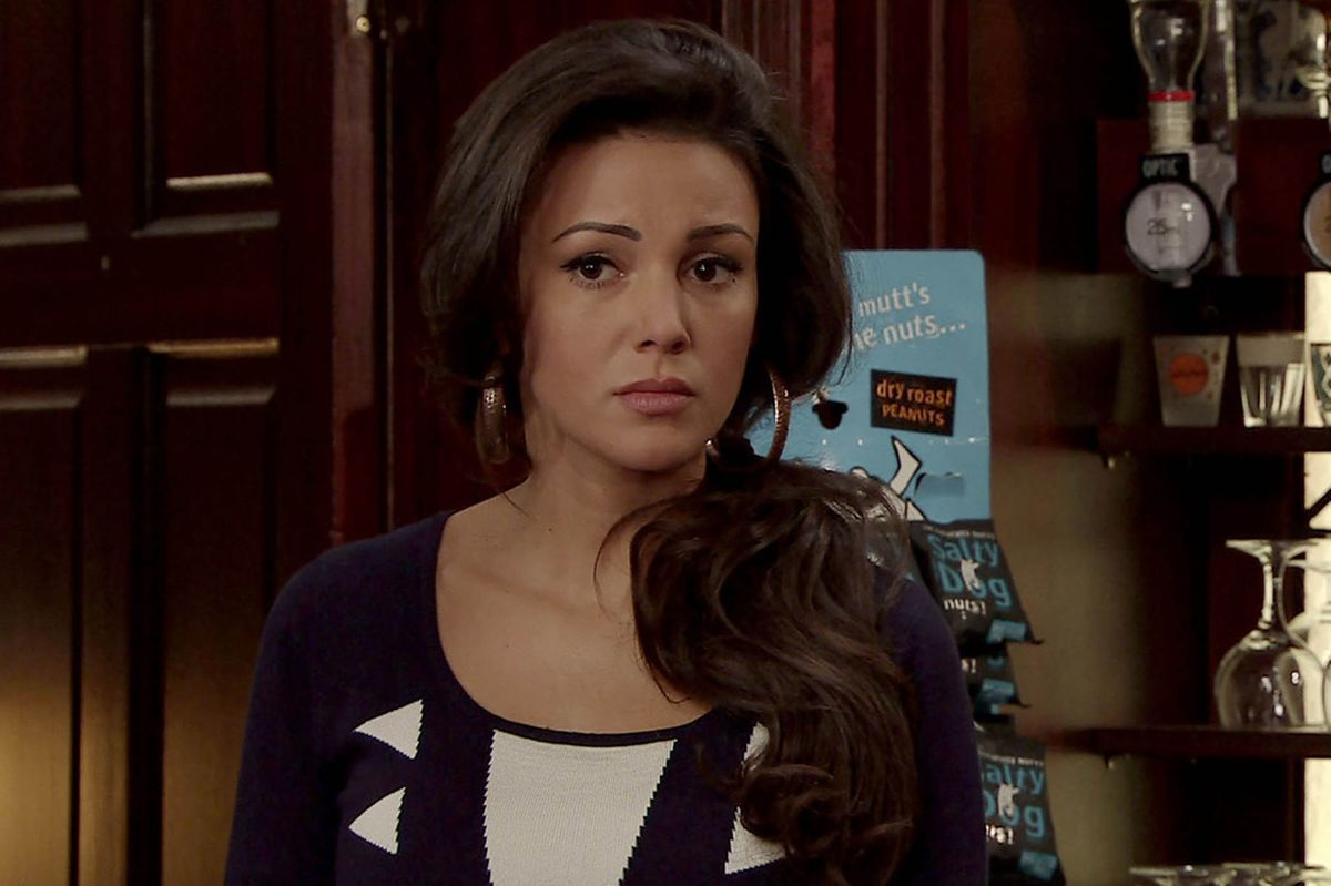 actress michelle keegan on coronation stree
