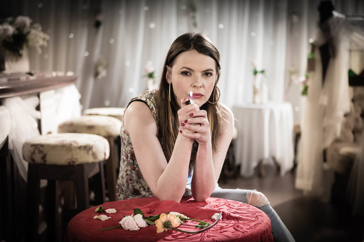 actress coronation street kate ford promo shot