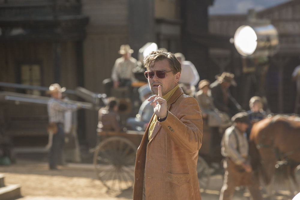 Brad Pitt star in ONCE UPON TIME IN HOLLYWOOD.