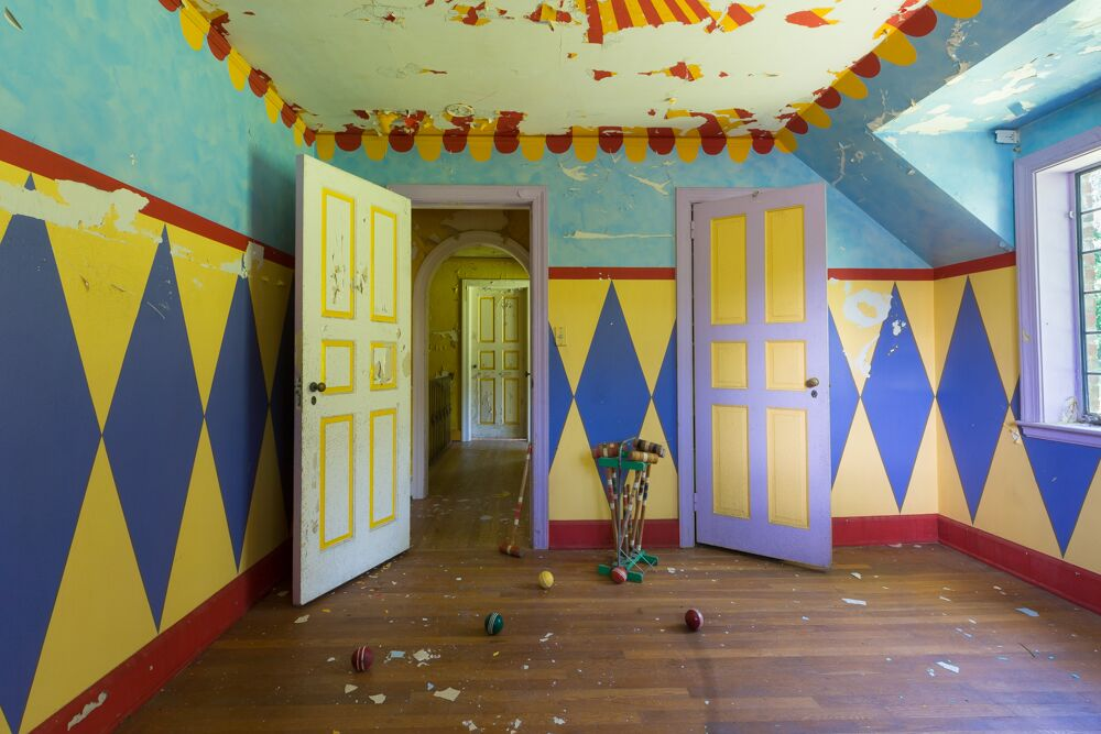 croquet room in the circus house
