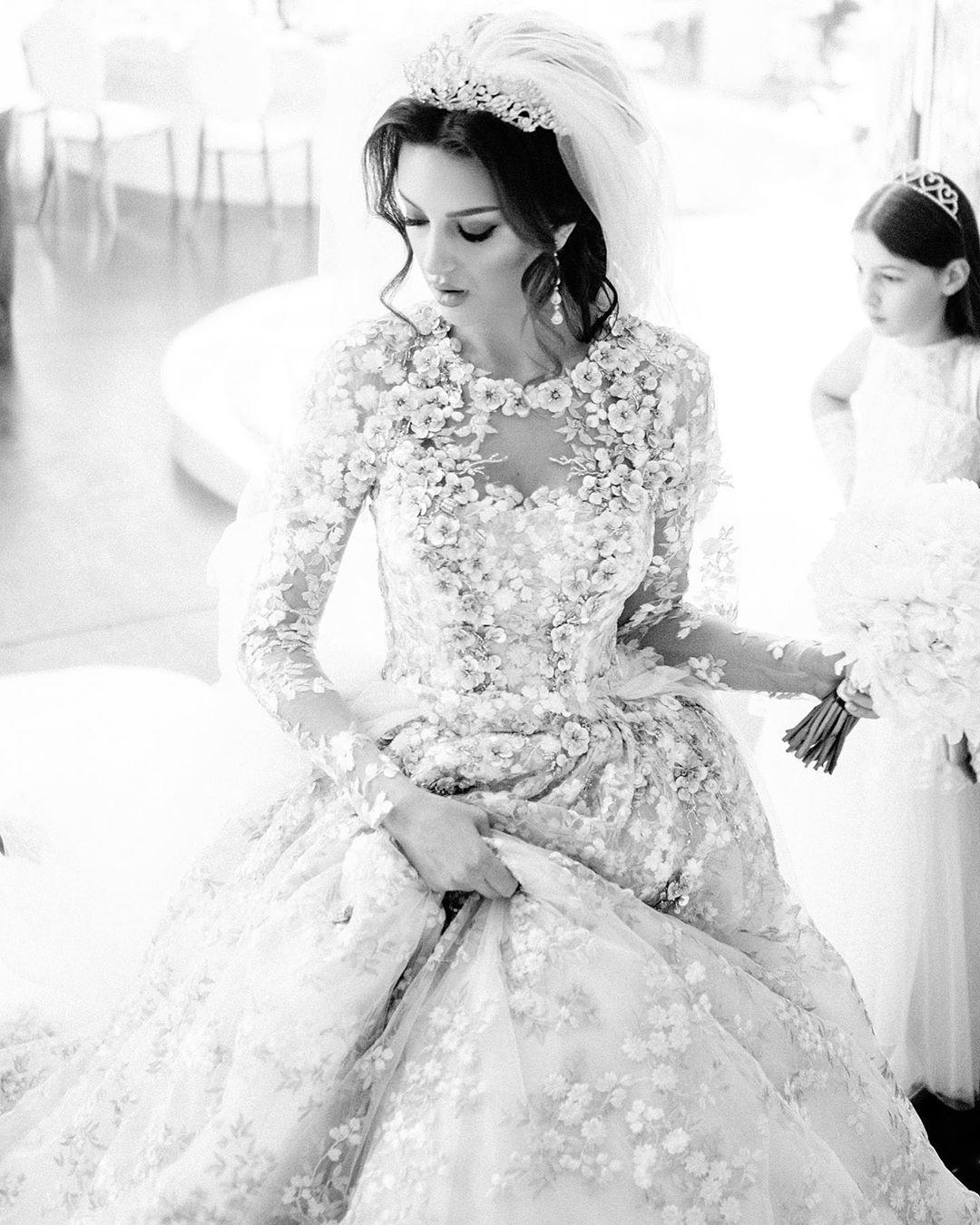 rhiana petra in a wedding dress